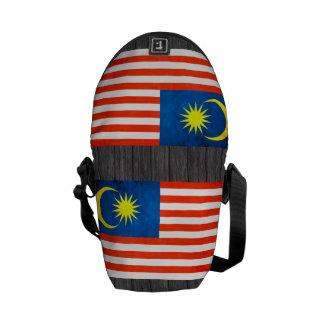 Colorful Contrast Malaysian Flag Messenger Bag