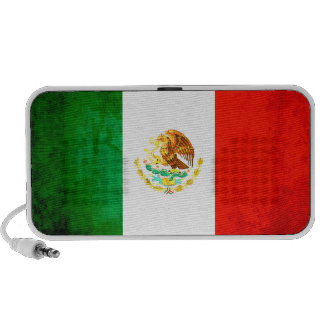 Colorful Contrast Mexican Flag Portable Speaker