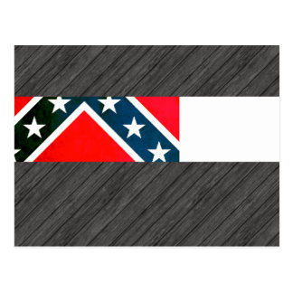 Colorful Contrast Mississippian Flag Postcard