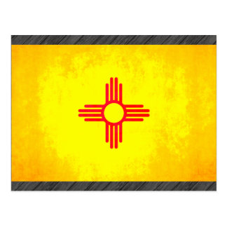 Colorful Contrast New Mexican Flag Postcard