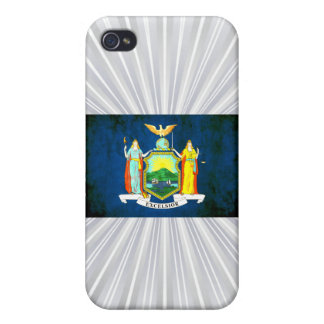 Colorful Contrast New Yorker Flag iPhone 4/4S Covers