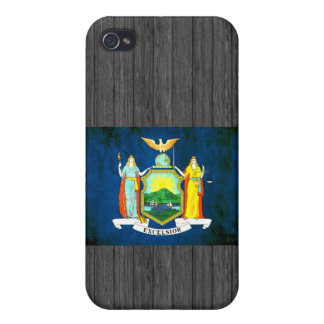 Colorful Contrast New Yorker Flag iPhone 4 Cover