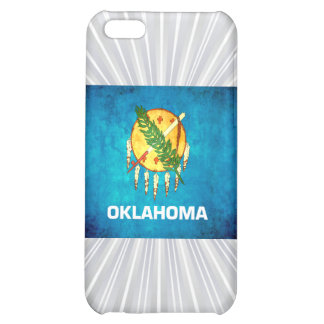 Colorful Contrast OklahomanFlag Cover For iPhone 5C