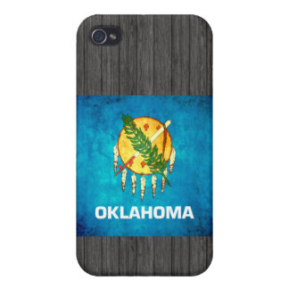 Colorful Contrast OklahomanFlag iPhone 4 Covers