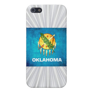 Colorful Contrast OklahomanFlag iPhone 5 Cases