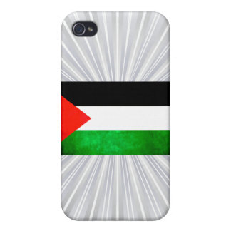 Colorful Contrast PalestinianFlag iPhone 4 Case