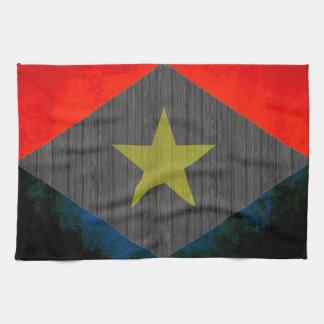 Colorful Contrast SabanFlag Towel