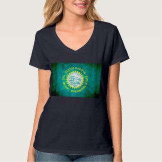 Colorful Contrast South DakotanFlag T-Shirt