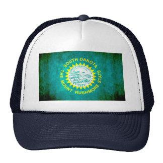 Colorful Contrast South DakotanFlag Trucker Hat