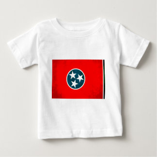 Colorful Contrast TennesseanFlag Baby T-Shirt