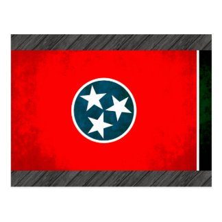 Colorful Contrast TennesseanFlag Postcard
