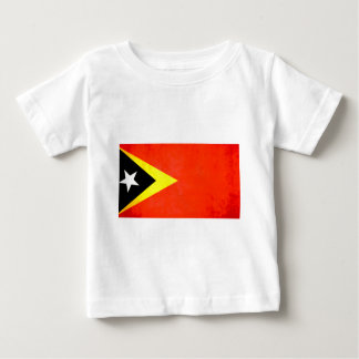 Colorful Contrast Timorese Flag Baby T-Shirt