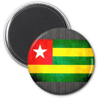 Colorful Contrast TogoleseFlag Magnets