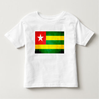 Colorful Contrast TogoleseFlag Toddler T-shirt