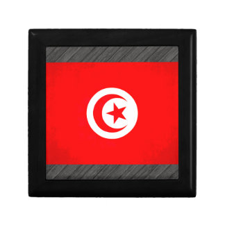 Colorful Contrast TunisianFlag Jewelry Box