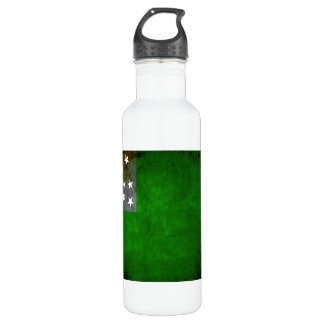 Colorful Contrast VermontFlag Stainless Steel Water Bottle