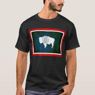 Colorful Contrast WyomingiteFlag T-Shirt