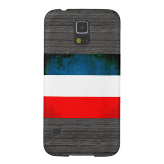 Colorful Contrast Yugoslavian Flag Galaxy S5 Cover