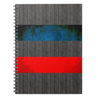 Colorful Contrast YugoslavianFlag Notebook