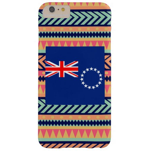 Colorful Cook Islands Flag Box Barely There iPhone 6 Plus Case