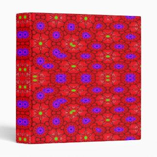 Colorful cool pattern binder