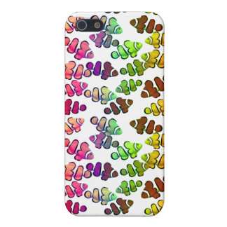 Colorful Coral Reef Clownfish iPhone Case