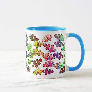 Colorful Coral Reef Clownfish Mug