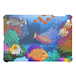 Colorful Coral Reef Fish iPad Case