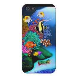Colorful Coral Reef Life Speck Case