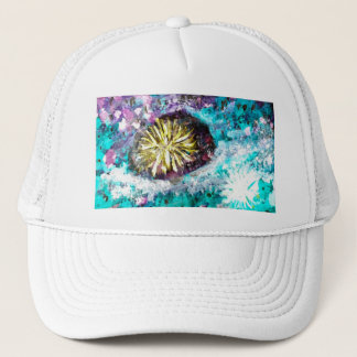 Colorful Coral Reef Sea Urchin Trucker Hat
