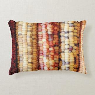 Colorful Corn Kernels Accent Pillow