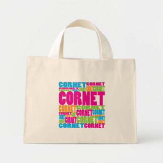Colorful Cornet Mini Tote Bag