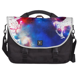 Colorful Cosmos Bags For Laptop
