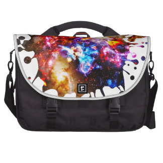 Colorful Cosmos Laptop Bag