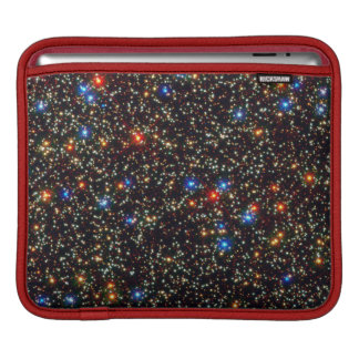 Colorful Cosmos Sparkling Stars And Light Sleeve For iPads