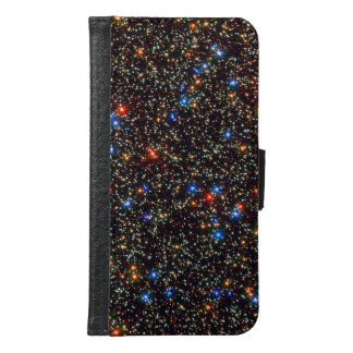 Colorful Cosmos Stars & Sparkless G2 Samsung Galaxy S6 Wallet Case