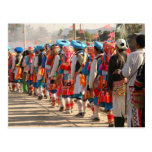 Colorful Costumes Postcards