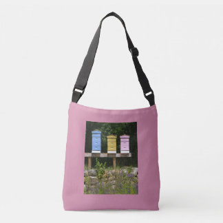 Colorful Country Beehive Crossbody Bag