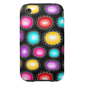 Colorful country flowers iPhone 3G Case