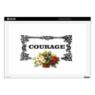"""colorful courage art design decal for 17"""" laptop"""