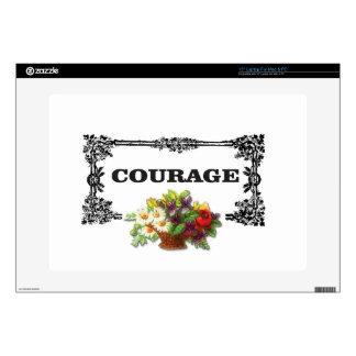 colorful courage art design laptop skins