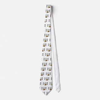 colorful courage art design neck tie