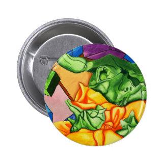 Colorful Cover Pinback Button