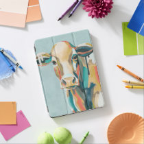 Colorful Cow iPad Pro Cover