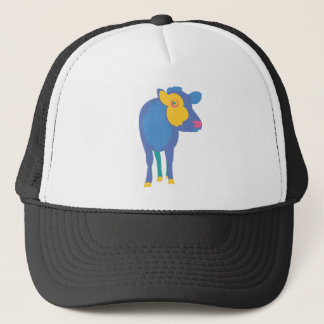 Colorful Cow Trucker Hat