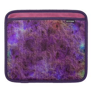 Colorful Cozy Violet Purple Amethyst Color Tones iPad Sleeve