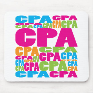 Colorful CPA Mouse Pad