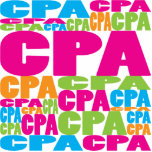 Colorful CPA Photo Sculpture