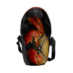 Colorful Crab Courier Bag
