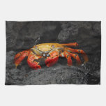 Colorful Crab Kitchen Towel